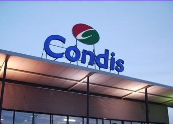 POS mounting solutions for Condis supermarkets in Spain.