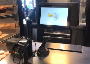 Techpole installs a point of sale mount at the Ikea in the Canary Island.