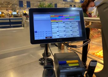 Techpole equips Ikea in Puerto Rico, America with a point of sale mount.