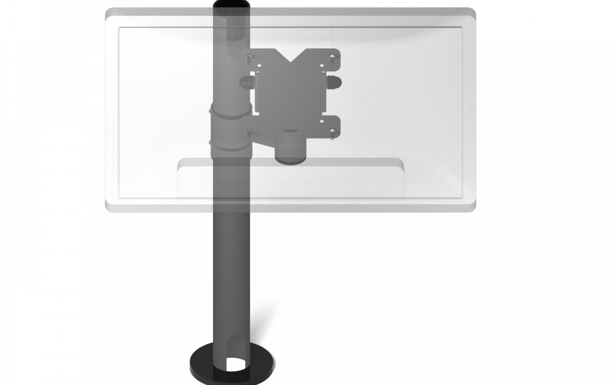 Monitor and Display Holders for offices, workshops, car rentals, pharmacies
