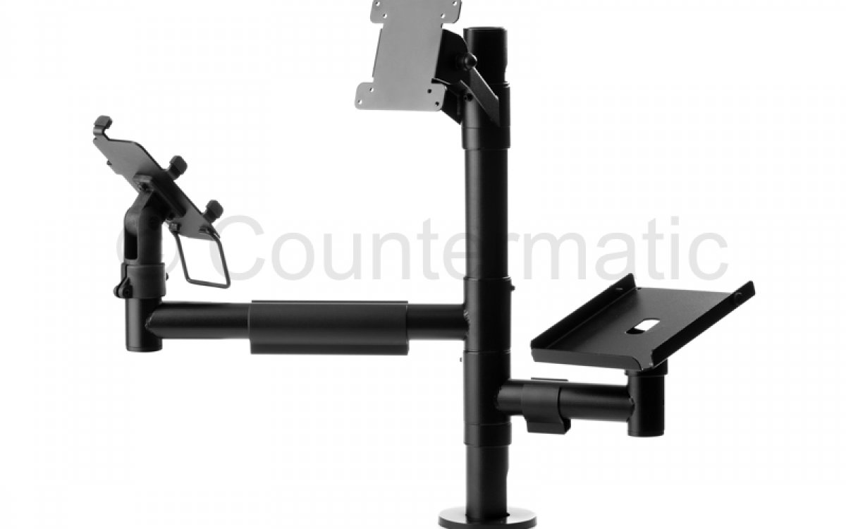 Why supermarkets currently need POS mounting solutions