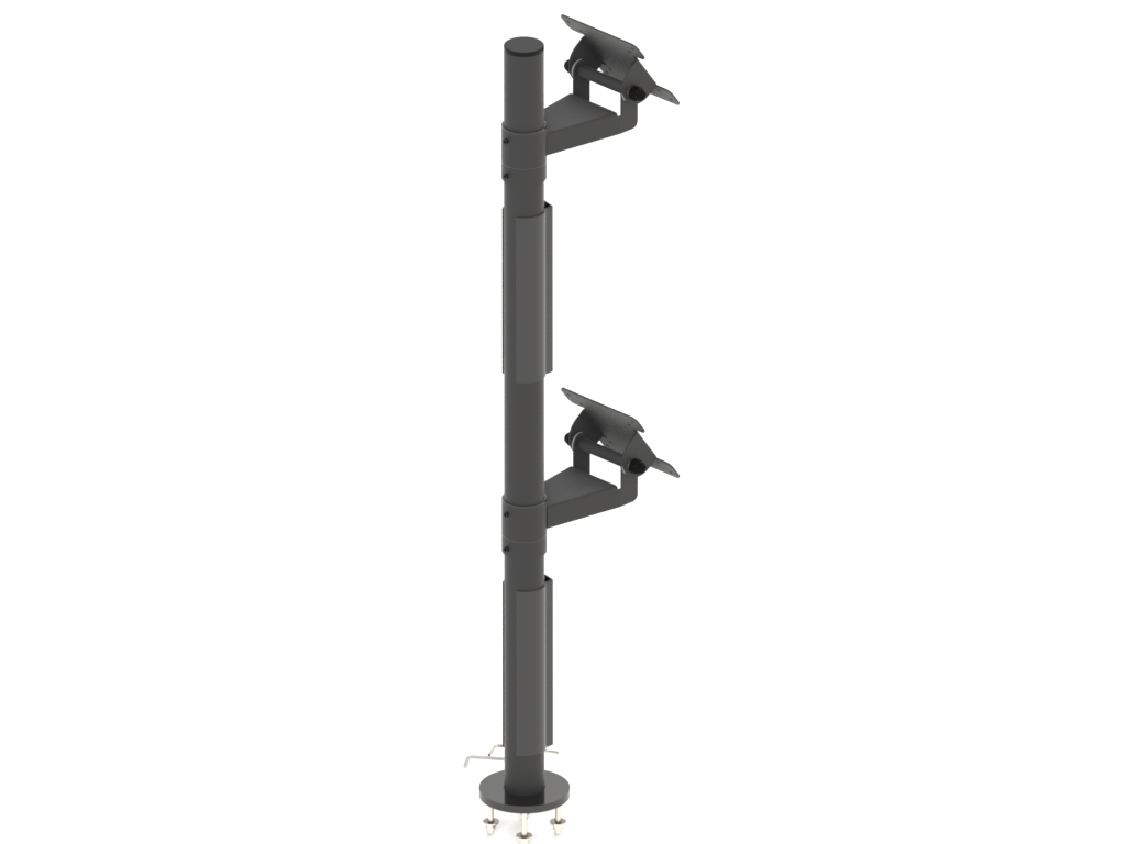 VESA Double Stand for Vertical Monitors