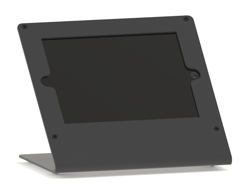 Universal antitheft desktop tablet holder
