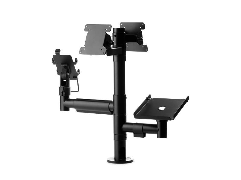 POS Mounting Solution with double VESA and two arms