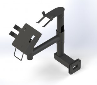 Customized POS Wall Mounting solution