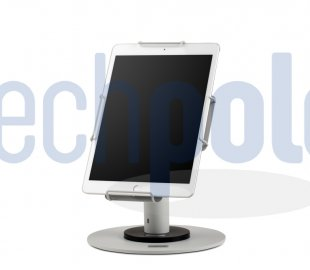Professional tablet stand in white